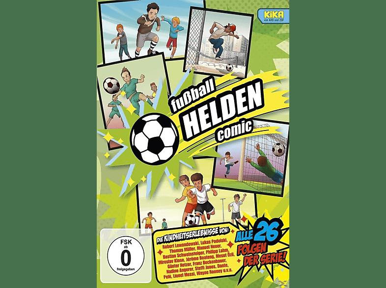 Fussball Helden Comic Die Komplette Kika Serie Dvd