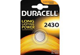 DURACELL CR2430 ELECTRONICS LITHIUM - Knopfzelle (Silber)