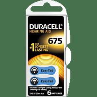 DURACELL Easytab 675 PR44 Knopfzelle, Silber