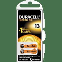 DURACELL Easytab 13 PR48 Knopfzelle, Silber