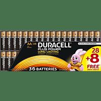 DURACELL Plus Power  AA Mignon Batterie Alkaline 36 Stück