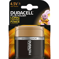 DURACELL Plus Power 4.5 Volt Batterie Alkaline 1 Stück