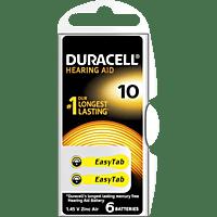 DURACELL Easytab 10 PR70 Knopfzelle, Silber
