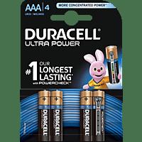 DURACELL Ultra Power AAA Micro Batterie Alkaline 4 Stück