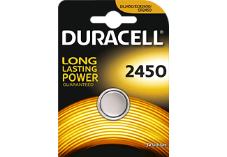 DURACELL CR2450 - Pile bouton (Argent)