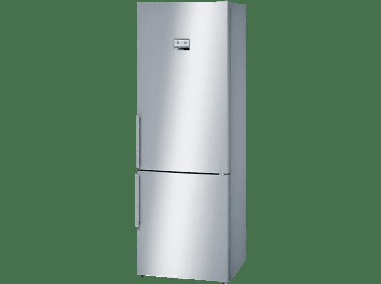 BOSCH KGN49AI40  Kühlgefrierkombination (A+++, 202 kWh/Jahr, 2030 mm hoch, Edelstahl)