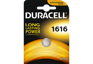 DURACELL CR1616 ELECTRONICS LITHIUM - Knopfzelle (Silber)