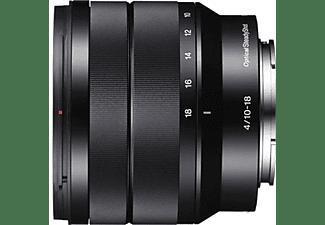 SONY SEL1018 10 mm - 18 mm f/4.0 OSS, ED, ASPH, Circulare Blende (Objektiv für Sony E-Mount, Schwarz)