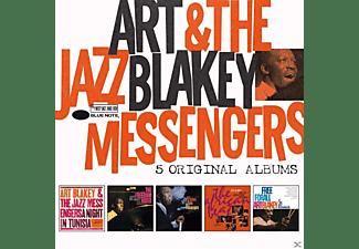 Art Blakey and the Jazz Messengers - 5 Original Albums  - (CD)