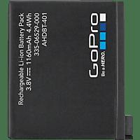GOPRO AHDBT-401-EU, Akku, Schwarz, passend für GoPro HERO4  Black, HERO4 Silver