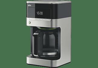 BRAUN KF 7120 PurAroma 7 Kaffeemaschine Edelstahl/Schwarz