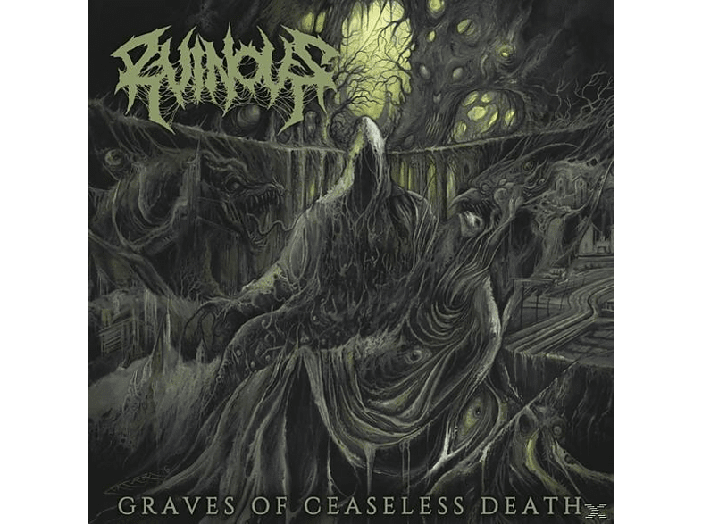 Ruinous - CEASELESS GRAVES OF DEATH (+DOWNLOAD) [Vinyl]