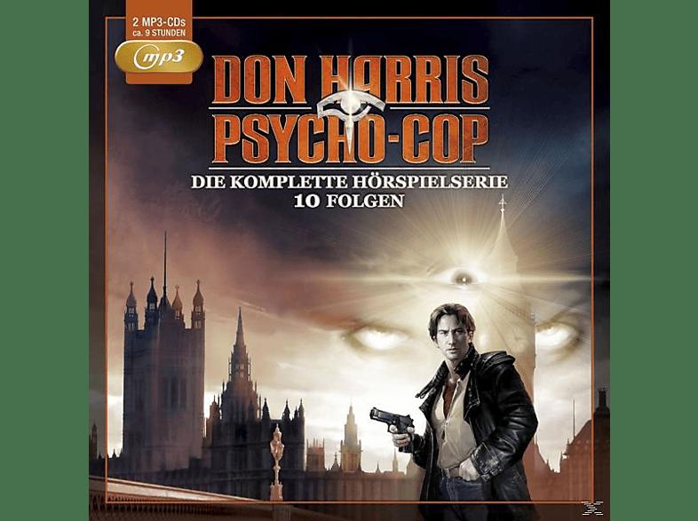 Don Harris - Psycho Cop - Die Komplette Hörspielserie-10 Folgen (2mp3 CDS) - (MP3-CD)