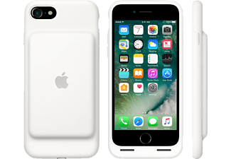 APPLE Smart Battery, Backcover, Apple, iPhone 7, Weiß
