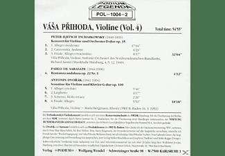 Vasa Prihoda - Werke Für Violine U.Orchester  - (CD)