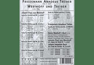 Friedemann Amadeus Treiber - 6 Suiten F.Violine Solo  - (CD)
