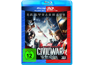 The First Avenger: Civil War 3D +2D Nachfolgeprodukt - (3D Blu-ray (+2D))