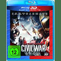 The First Avenger: Civil War 3D +2D Nachfolgeprodukt [3D Blu-ray (+2D)]