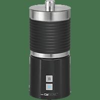 CLATRONIC MS 3654 Soft Touch Milchaufschäumer, Schwarz, 650 Watt, 0.7 l