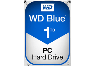 WESTERN DIGITAL Blue (Desktop), 1To - Disque dur (HDD, 1 TB, Bleu)