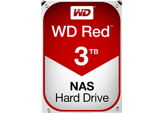 WESTERN DIGITAL Red WD30EFRX - Disque dur (HDD, 3 TB, Rouge)