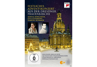 Dresdner Kreuzchor, Sächsischer Staatsopernchor, Staatskapelle Dresden - Festl.Adventskonz.2015 a.d.Dresdner Frauenkirche  - (DVD)