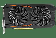 GIGABYTE GeForce® GTX 1050 Windforce OC 2GB (GV-N1050WF2OC-2GD) (NVIDIA, Grafikkarte)