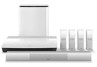 BOSE Lifestyle 650 home entertainment system, weiß