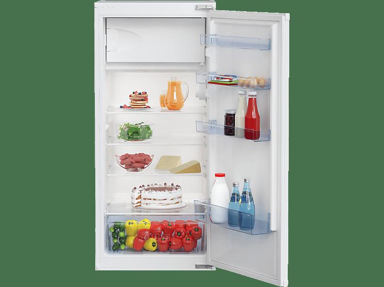 BEKO BSSA210K2S  Kühlschrank (A+, 211 kWh/Jahr, 1216 mm hoch, Weiß)