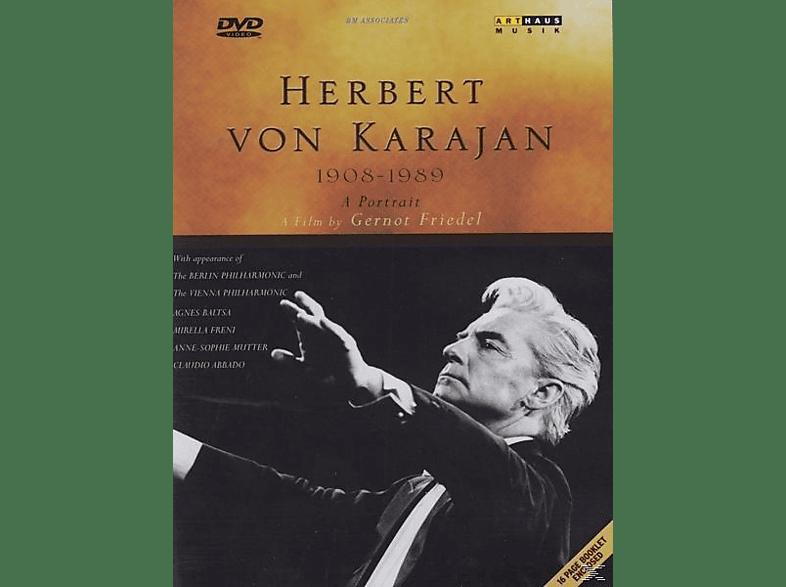 Berliner Philharmoniker, Vienna  Philharmoniker, Herbe Karajan, Herbert von Karajan - 1908-1989 A Portrait [DVD]