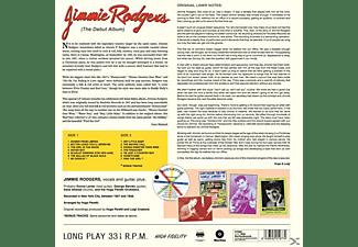 Jimmie Rodgers - The Debut Album+2 Bonus Tracks (Ltd.180g Vinyl)  - (Vinyl)