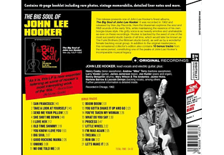 John Lee Hooker - The Big Soul Of John Lee Hooker+10 Bonus Tracks  - (CD)