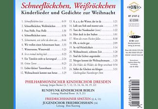 Rundfunk-kinderchor Berlin - Schneeflöckchen,Weissröckchen  - (CD)