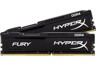 KINGSTON Fury Black 8GB (2x4GB) 2400MHz DDR4 Ram Bellek (HX424C15FBK2/8)