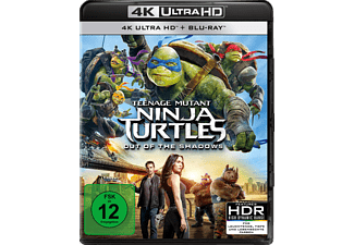 Teenage Mutant Ninja Turtles: Out of the Shadows [4K Ultra HD Blu-ray]