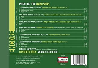 Gerald Hambitzer, Concerto Köln - Music of the Bach Sons  - (CD)