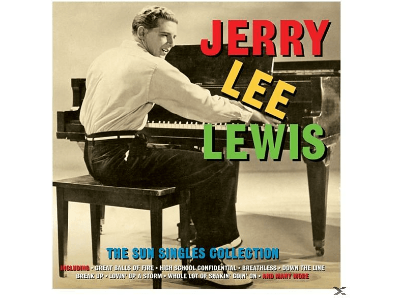 Jerry Lee Lewis - Sun Singles Collection [CD]