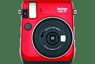 FUJIFILM INSTAX Mini 70 Sofortbildkamera, Rot