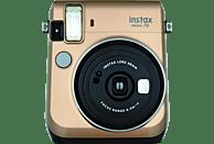 FUJIFILM INSTAX Mini 70 Sofortbildkamera, Gold