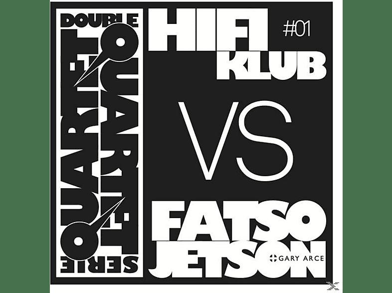 HIFIKLUB VS. FATSO JETSON - Double Quartet Serie #01 (White Vinyl) [Vinyl]