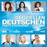 VARIOUS - Offiziellen Deutschen Party &Schlager Charts Vol.6 [CD]