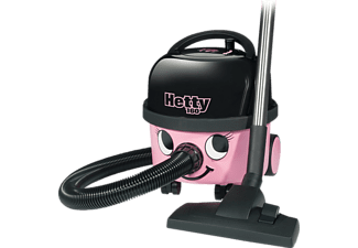NUMATIC HET160-11 Hetty Kompakt Staubsauger, maximale Leistung: 620 Watt, Pink)