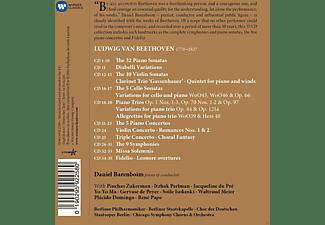 Daniel Barenboim - Beethoven Barenboim  - (CD)