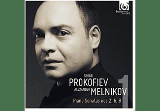 Alexander Melnikov - Klavietsonaten  - (CD)