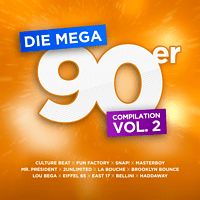 VARIOUS - Die Mega 90er Vol. 2 - Die offizielle Compilation  [CD]