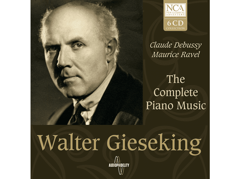 Walter Gieseking - The Complete Piano Music [CD]