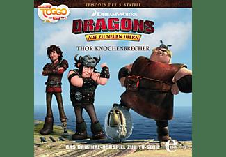 Dragons-auf Zu Neuen Ufern - (23)Hörspiel z.TV-Serie-Thor Knochenbrecher  - (CD)