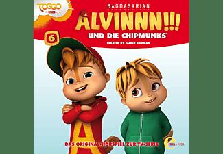 Alvinnn!!! Und Die Chipmunks - (6)Hörspiel z.TV-Serie-Das Baumhaus  - (CD)