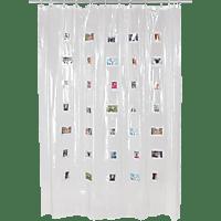 FUJIFILM Instax Mini Shower Curtain, Duschvorhang, Weiß, passend für Instax mini Sofortbilder