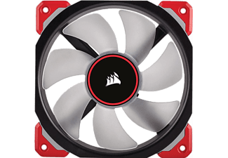 CORSAIR ML Series ML140 PRO LED Red Premium Magnetic Lüfter 140 mm